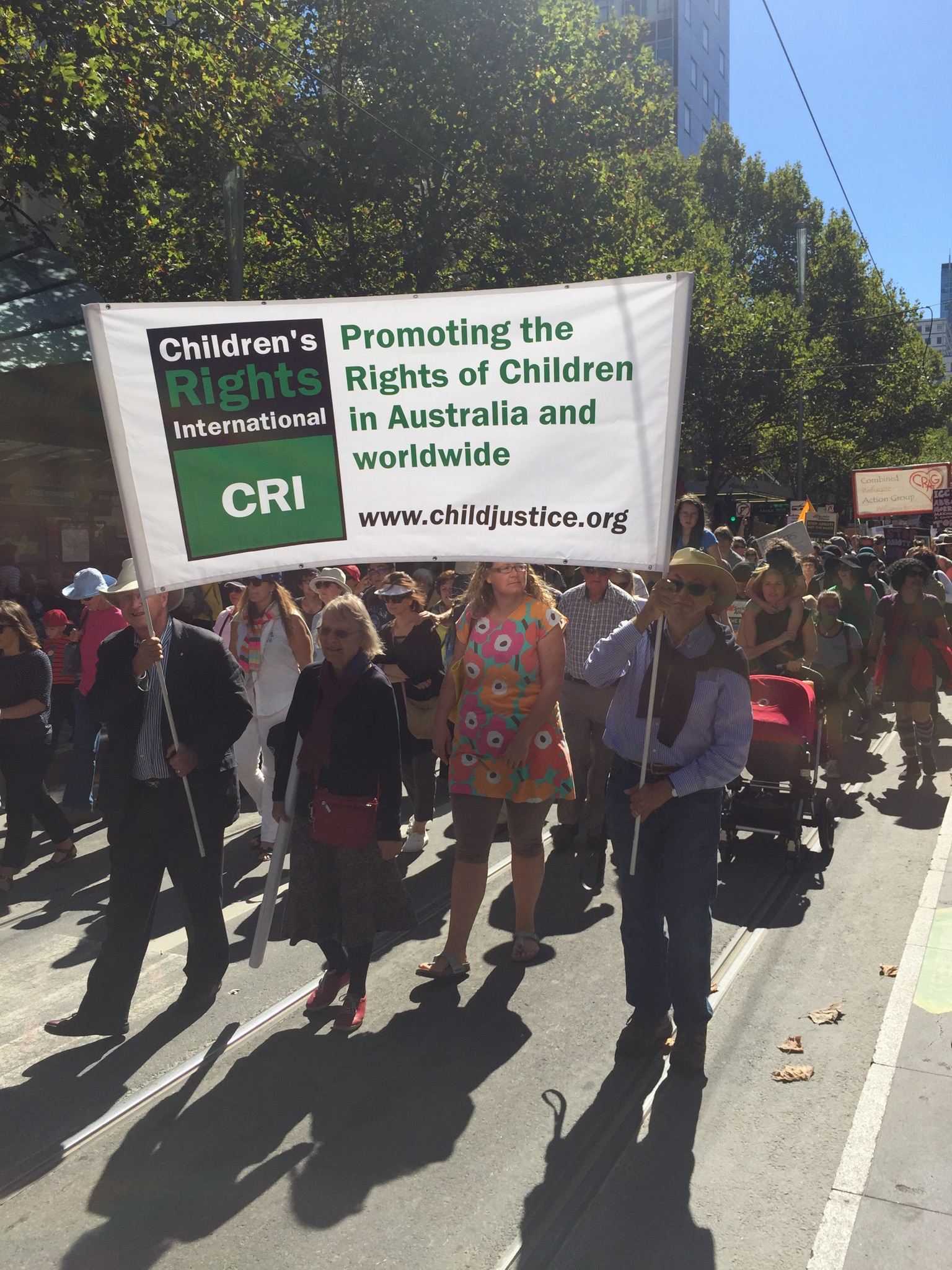 CRI at the Walk for Justice 2015